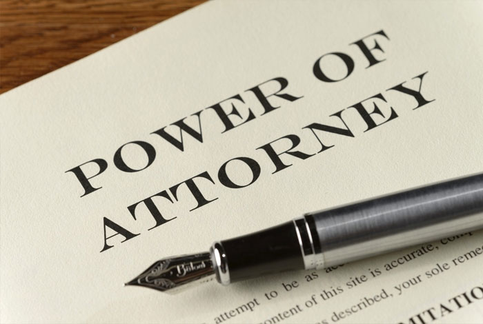 advise for power of attorney